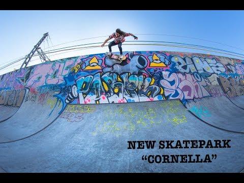 """Skatepark review in Barcelona, """" Skatepark Cornella""""."""
