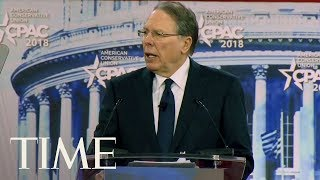 NRA CEO Wayne LaPierre Speaks About Gun Control At CPAC 2018: 'It's Not A Safety Issue' | TIME