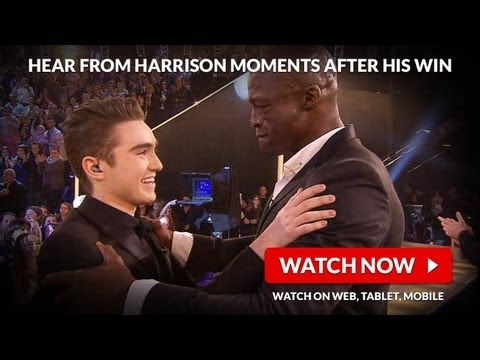 Hear From Harrison Moments After His Win: The Voice Australia Season 2