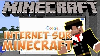 DU STREAMING SUR MINECRAFT ?! - WEB DISPLAYS MOD MINECRAFT 1.7.10 FR