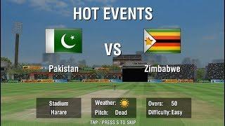 16th July 2018 Pakistan vs Zimbabwe 2nd Odi Full Match Highlights - WCC2