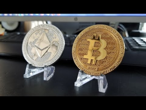 REAL Bitcoins And Ethereum Coins For Collectors!
