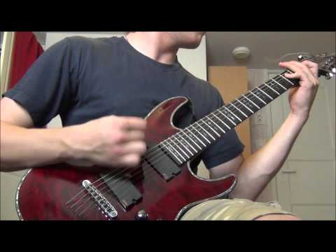 Cerebral Bore - Entombed In Butchered Bodies GUITAR COVER