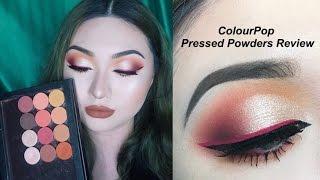 ColourPop單顆眼影 // 心得、試色、眼妝示範│ColourPop Pressed Powder Eyeshadows Review, Swatches and Demo!