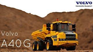 Lego Technic Volvo A40G dump truck