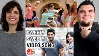 ALLU ARJUN DID IT AGAIN! - Race Gurram Video Songs   Sweety Sweety Reaction