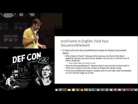 DEF CON 23 - Dan Kaminsky - I Want These * Bugs off My * Internet