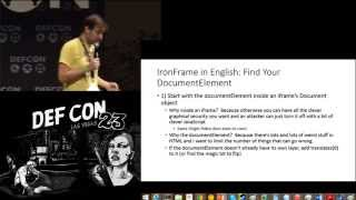 DEF CON 23 - Dan Kaminsky - I Want These * Bugs off My * Internet