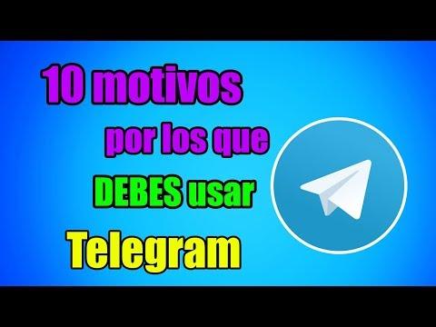 10 motivos para que USES TELEGRAM y NO WHATSAPP 2018