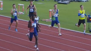 Men's 400m at Memorial Josefa Odlozila 2019