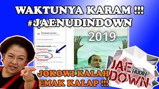 #JAENUDINDOWN SUSUL #INSTAGRAMDOWN TRENDING TOPIC ! RAKYAT MAKIN 'GANAS' PILIH YG 'CERDAS' #2019GP