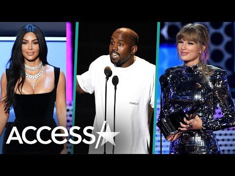 Taylor Swift, Kanye West & Kim Kardashian's Decade-Long Feud