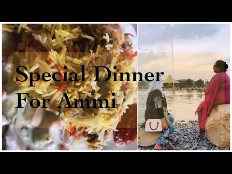 Special Dinner for Ammi   Fish and Abaya Market tour  Chatpati prwans Biryani