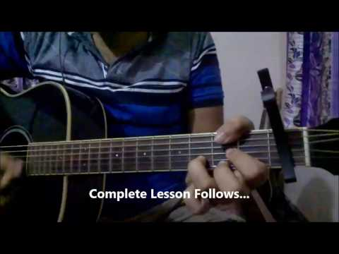 Laal Ishq Guitar Chords Lesson | Arijit Singh | Beginners Lesson