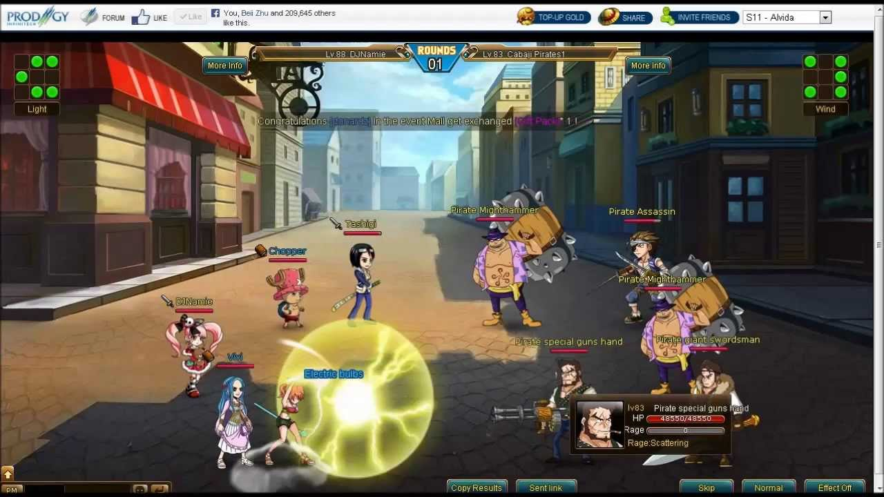 One Piece Browsergame