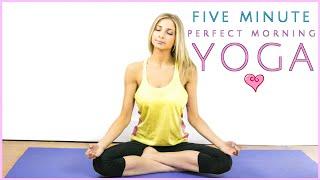 Morning Yoga Perfection | 5 Minute Miracle | Rise & Shine Sleepy Bear Yoga