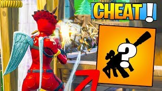 THE MORE CHEATED ON Fortnite: Battle Royale!