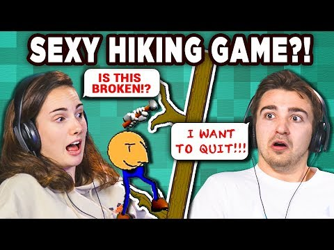 THE ORIGINAL GETTING OVER IT!   SEXY HIKING (React: Gaming)