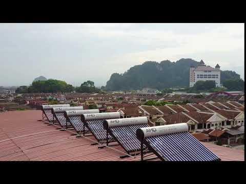 【Smart Solar Water Heater System 】Enjoy Free Hot Water Supply at GT Sport Club House