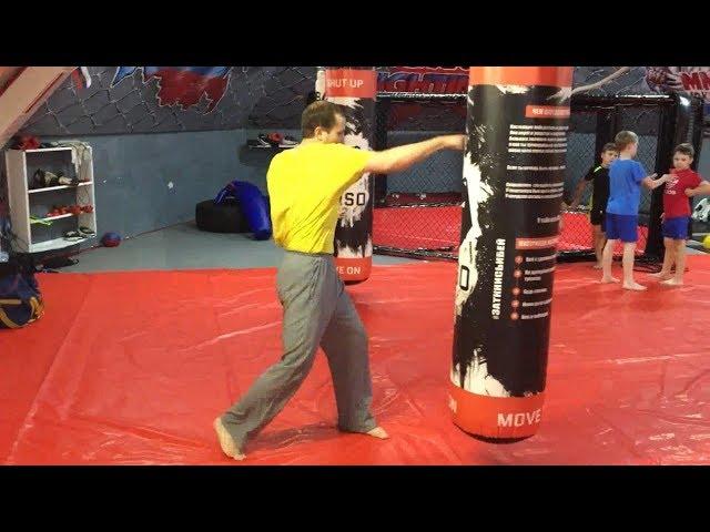 Вертушка. Маваши. Техника рук и техника ног. Клуб ММА. Евгений Джим