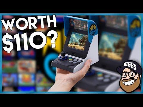 Neo Geo Mini US Version- Unboxing + Gameplay