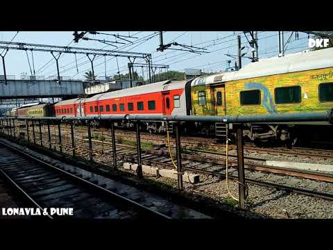 Indian Rail & Railway Stations || Lonavla || Pune