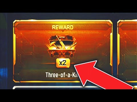 "122/125 WINS! - UNLOCKING 2 ""GRAND SLAM BUNDLES"" in 1 STREAM! (Black Ops 3 New Free DLC Weapons)"