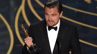 Леонардо Ди Каприо получил Оскар - Oscar 2016: Leonardo DiCaprio Wins The Oscar Best Actor