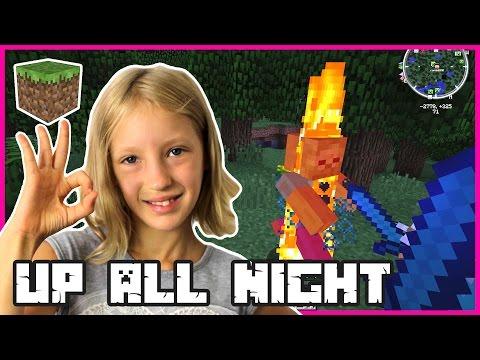 UP ALL NIGHT | Minecraft