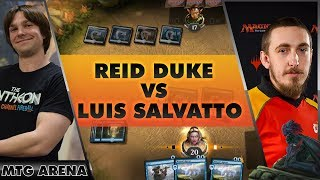 Reid Duke Gets a Direct Challenge from Luis Salvatto on MTG Arena