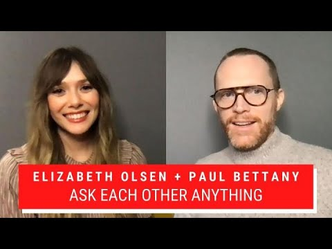 Elizabeth Olsen and Paul Bettany Ask Each Other Anything