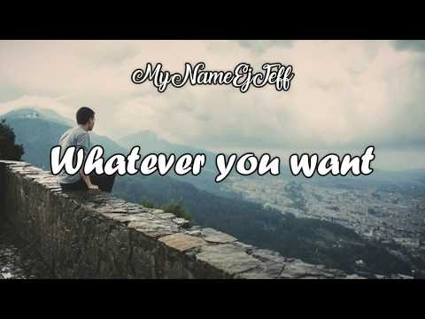 Pink - Whatever You Want (Lyrics Video)