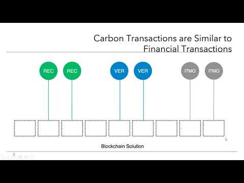 Blockchain for Climate Actions and Carbon Markets