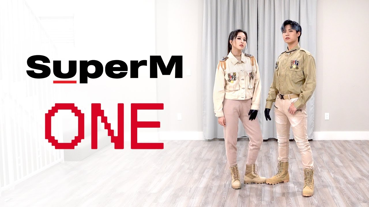 SuperM - 'One (Monster & Infinity)' Dance Cover   Ellen and Brian