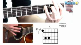 "How to Play ""Glycerine"" by Bush on Guitar"