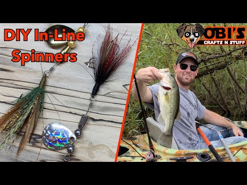 DIY In-Line Spinners For Bass//Beginners Guide For Lure Making