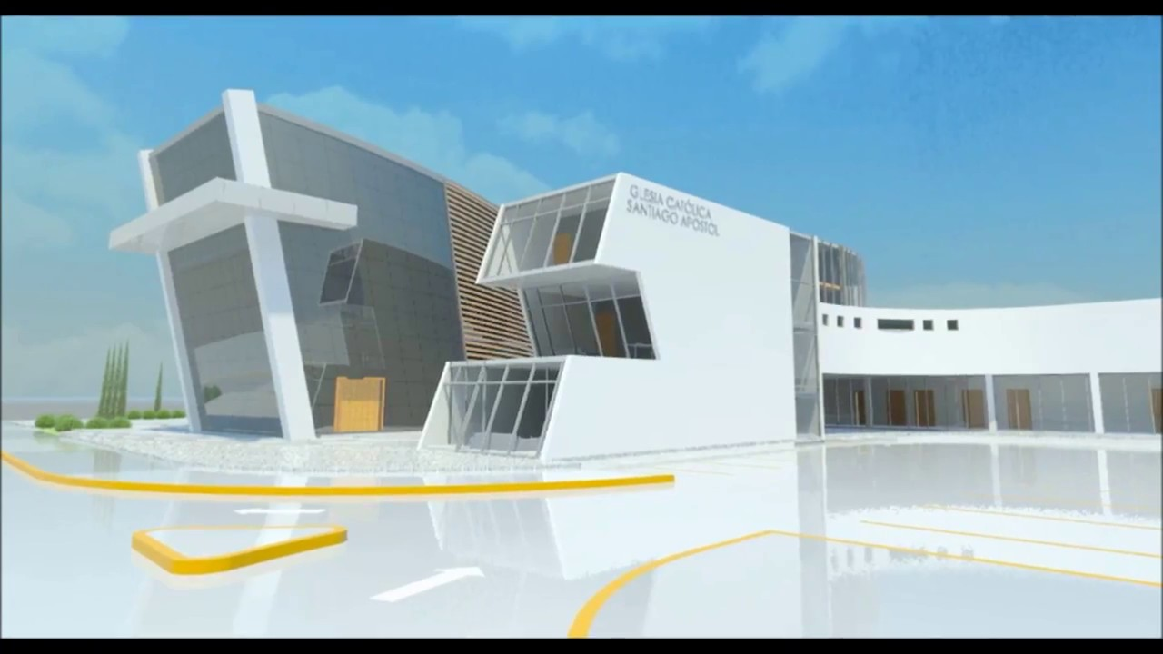 Front Elevation Design In Revit : Revit architecture making of church youtube