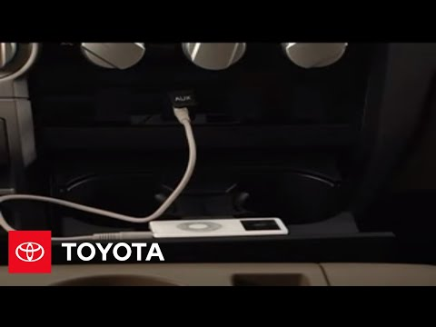 2007 - 2009 Tundra How-To: Auxiliary Input | Toyota
