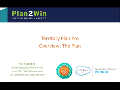Territory Plan Pro: Generating Sales Territory Plans - YouTube
