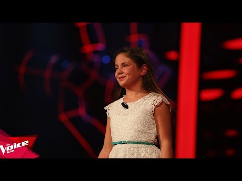 Eliza - My heart will go on | The Blind Auditions | The Voice Kids Albania 2018