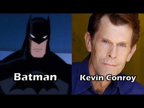 Characters and Voice Actors - Justice League: Doom