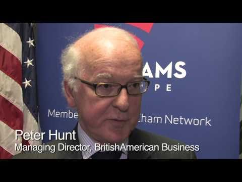 Why are American Chambers of Commerce in Europe important?