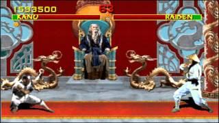 Mortal Kombat Arcade Revision 3.0 Very Hard Playthrough Kano (60FPS) thumbnail