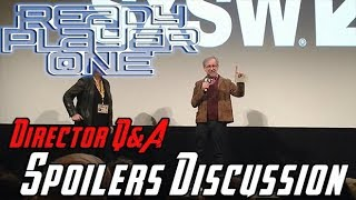 Ready Player One - Steven Spielberg's Q&A + Spoilers!