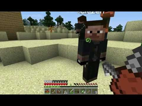 Minecraft Assassins Creed Mod Throwing Knives Dual