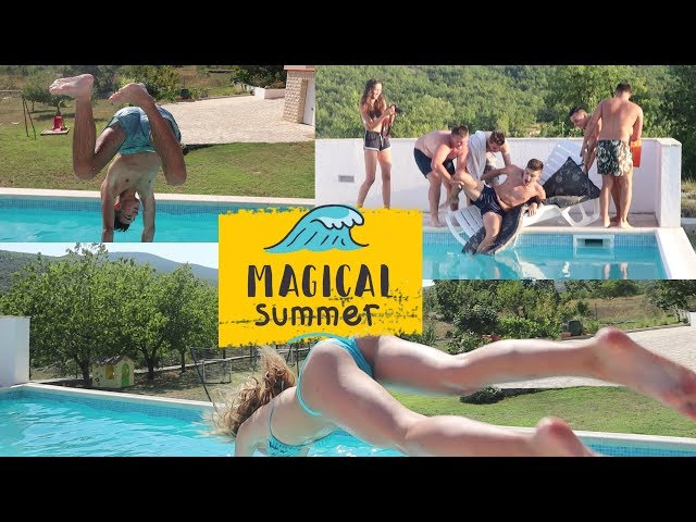 BACILI GA U SNU U BAZEN | SummerVlog