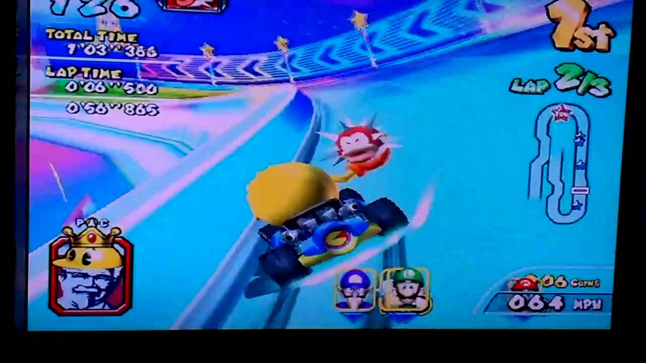 Some Random Mario Kart Arcade Rainbow Road Race Dave