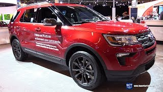 2018 Ford Explorer - Exterior and Interior Walkaround - 2018 Montreal Auto Show