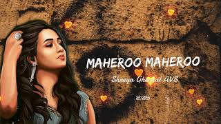 Maheroo Maheroo | Super Nani | Shreya Ghoshal & Darshan Rathod | AVS
