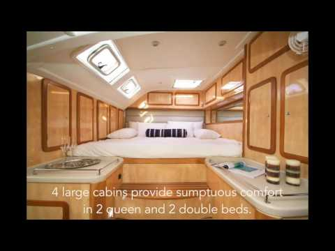 Catamaran / Sail Yacht Karizma 53ft, Luxury Crewed Yacht Charters - BVI - Caribbean!